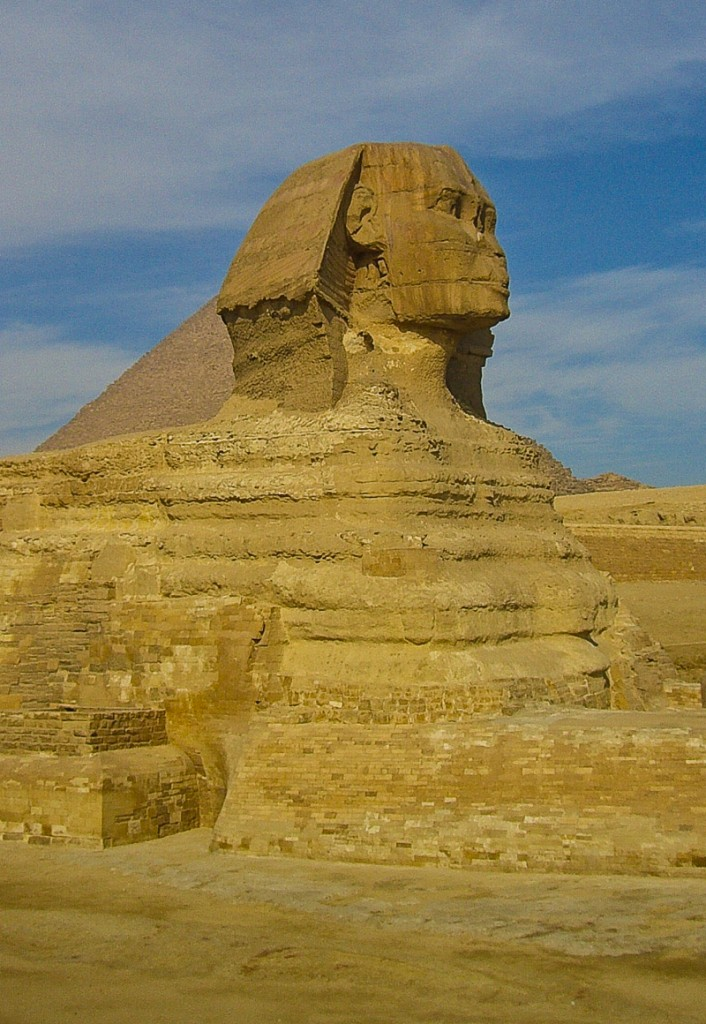 Great Sphinx of Giza Cairo Egypt