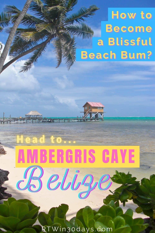 Ambergris Caye Belize Islands