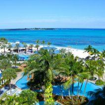 Beaching it in Nassau Bahamas