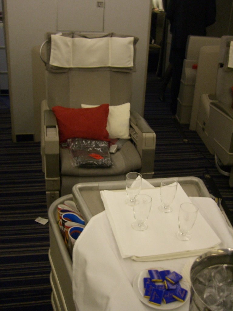 Frequent flier miles Air France First Class