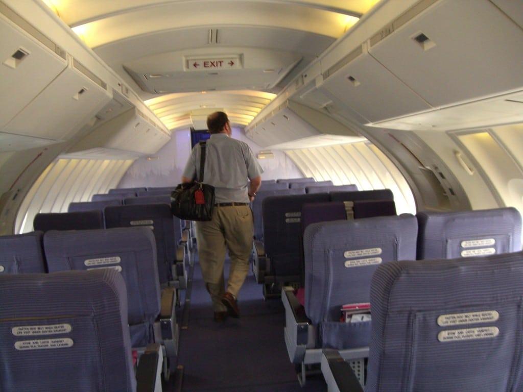 747 Upper deck Thai Airways
