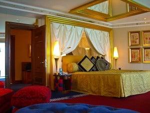 Bedroom Burj Al Arab Dubai suite