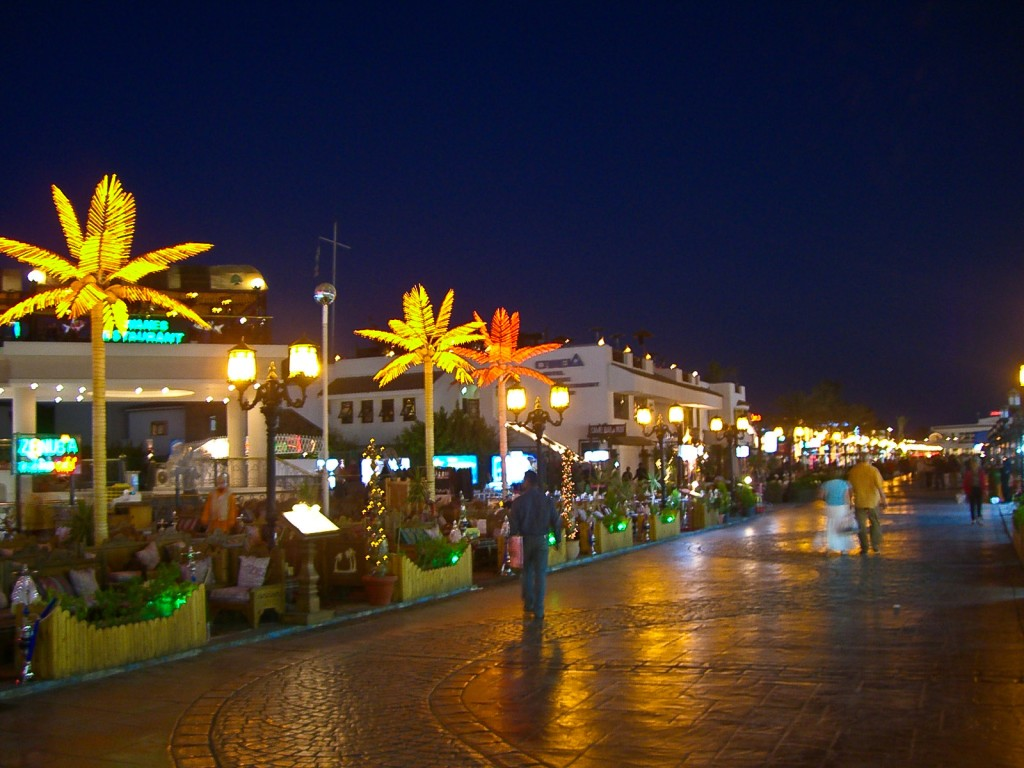 Naama Bay Sharm el Sheikh Egypt