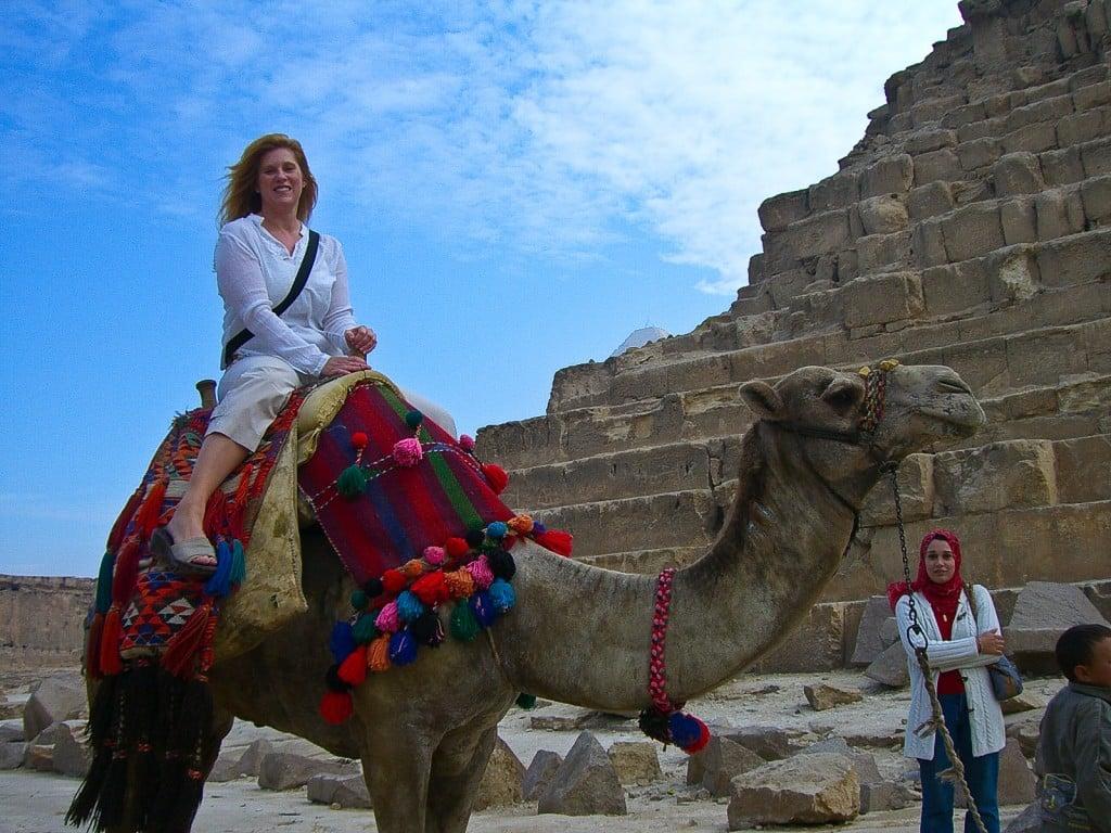 Camel ride Pyramids Cairo