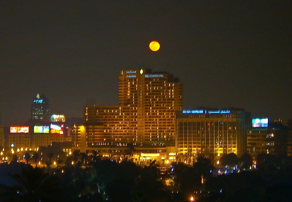 Moon Cairo Egypt