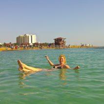 Doing the Dead Sea Float
