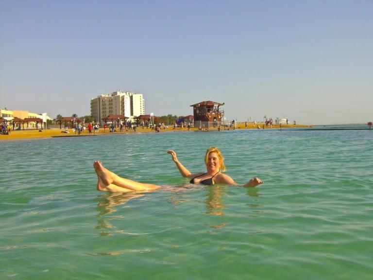 Doing the Dead Sea Float in Israel