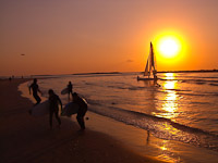 Sunset Tel Aviv Israel