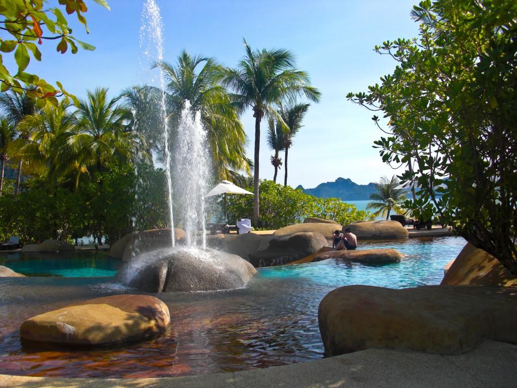 Boulder Pool Westin Langkawi Malaysia