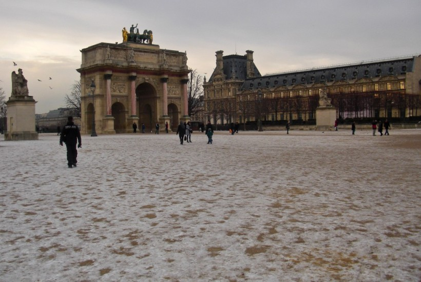 Snow Paris France
