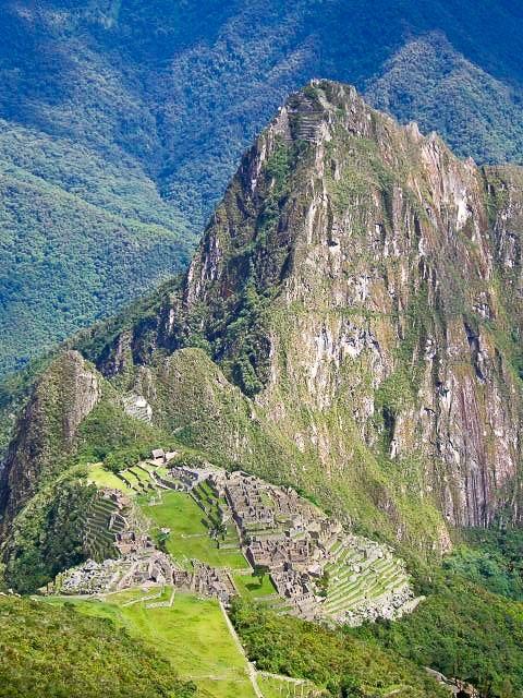 Machu Picchu Mountain Peru