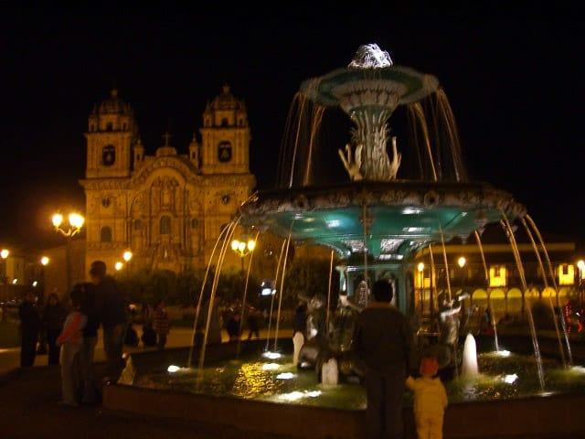 Plaza de Armas Cuzco Peru