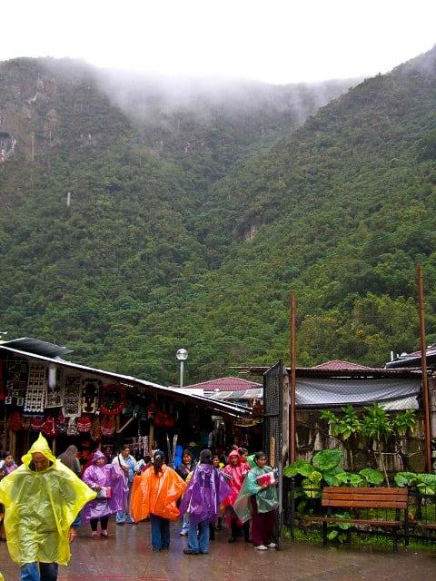 Aguas Calientas Machu Picchu Town Peru