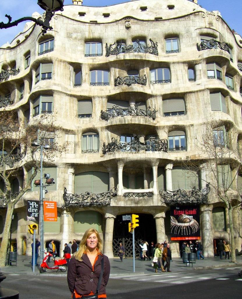 Gaudi La Pedrera Casa Mila Barcelona Spain