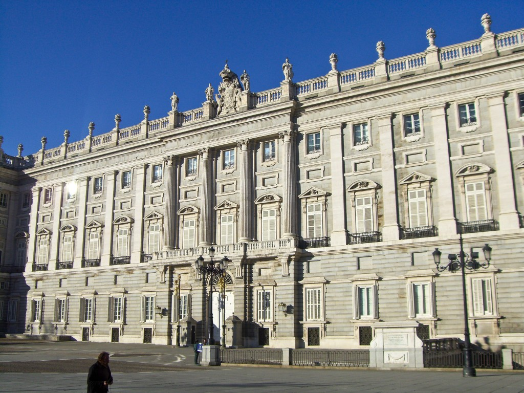 Royal Palace Madrid Spain