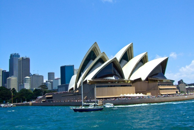 Australia Day in Sydney Harbour Australia