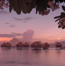 Blowing the Budget in Tahiti