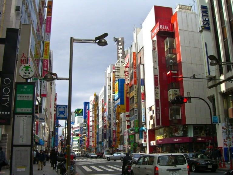 Touring Tokyo