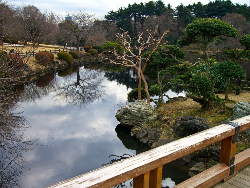 Shinjuku National Garden Tokyo Japan
