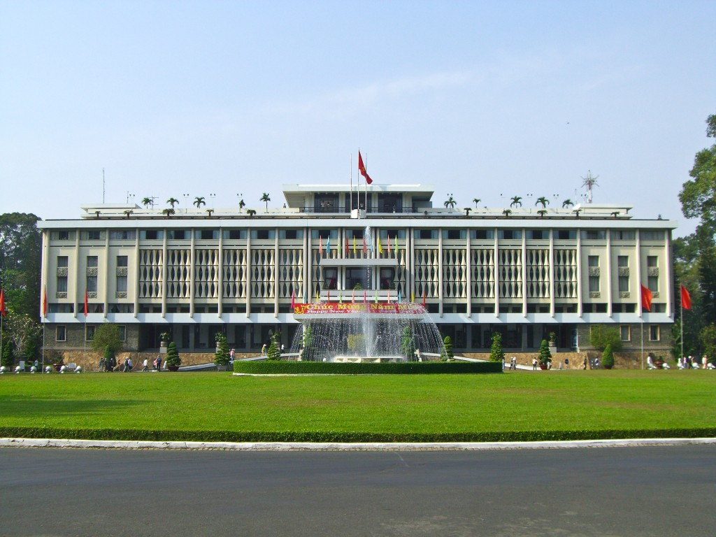Reunification Palace Saigon Vietnam