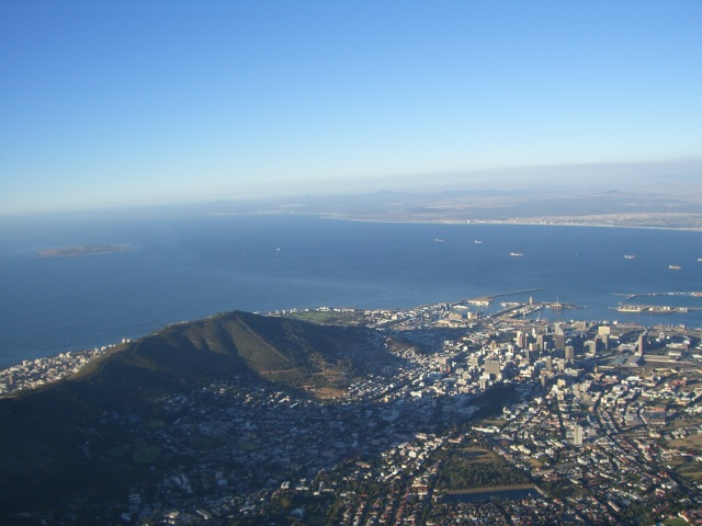 Table Mountain View Cape Town South Africa