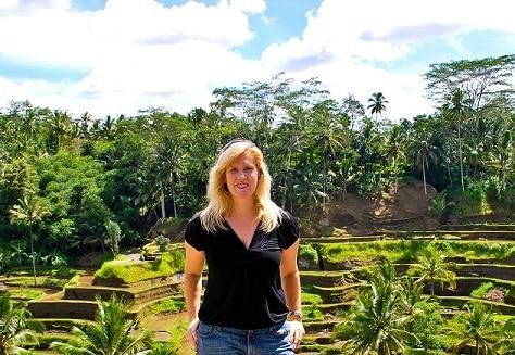 Rice Terraces Ubud Bali