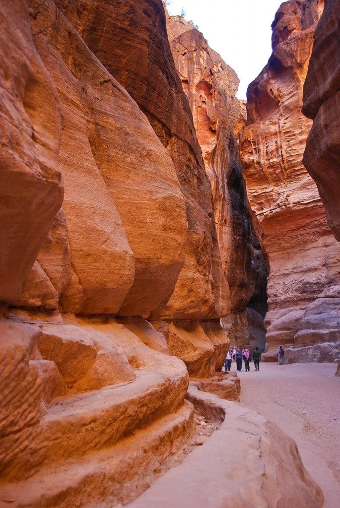 The Siq Petra Jordan