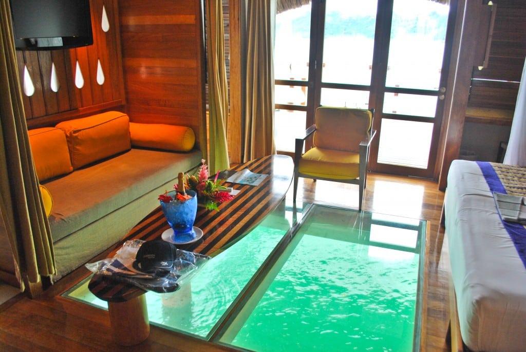 Overwater Bungalow Le Meridien Bora Bora