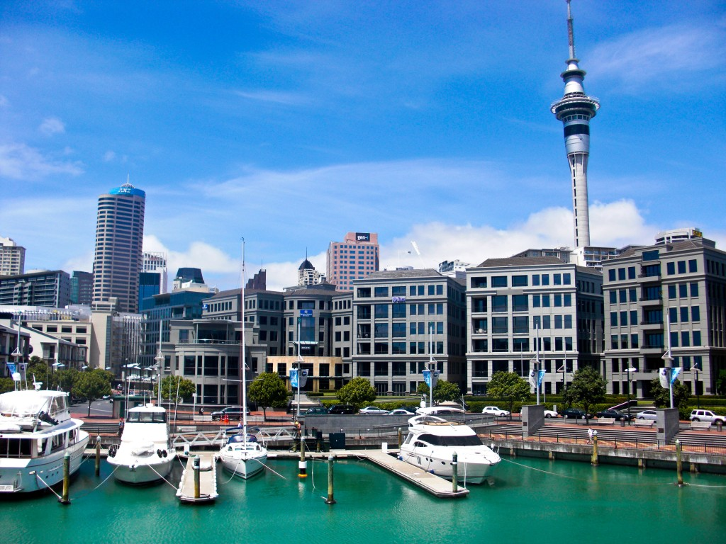 Viaduct Harbour Auckland New Zealand
