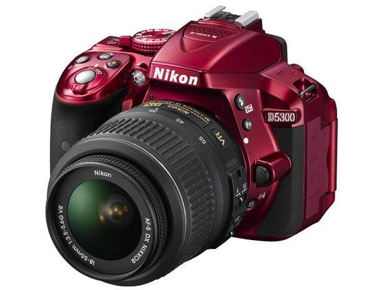 Nikon D5300 Red