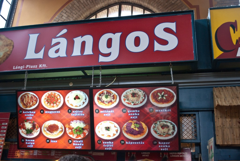 Langos Budapest Hungary