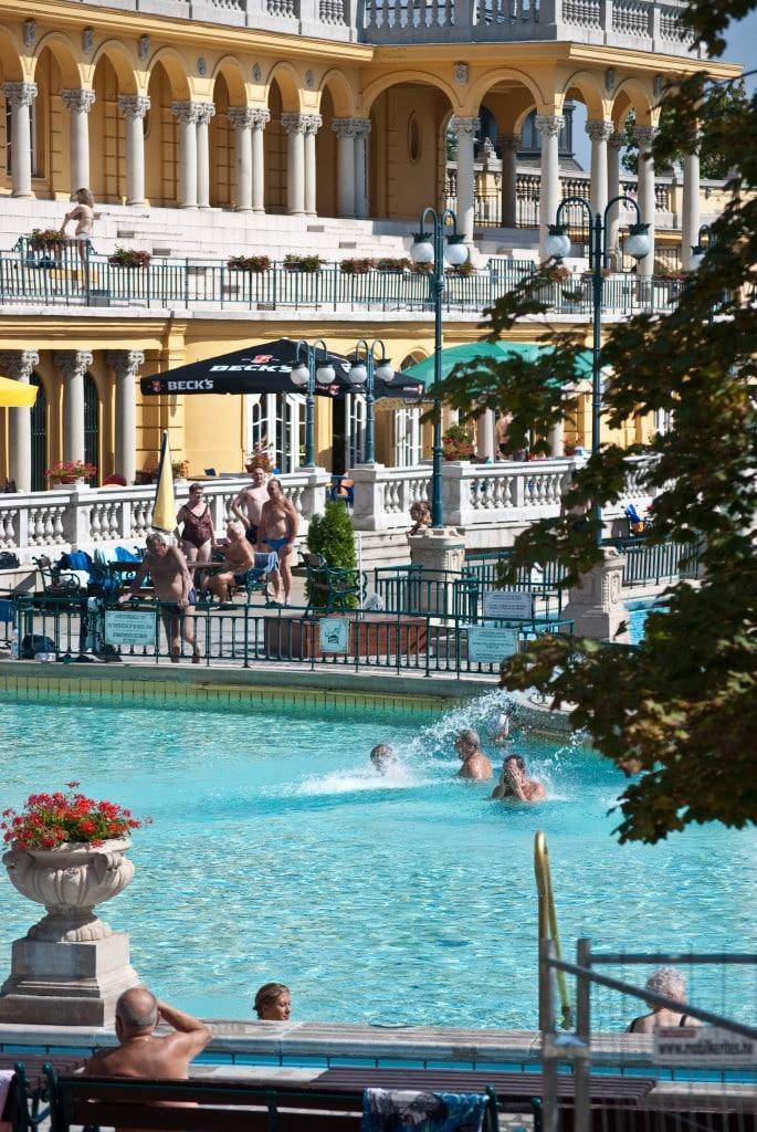 Szechenyi Spa Baths Budapest Hungary