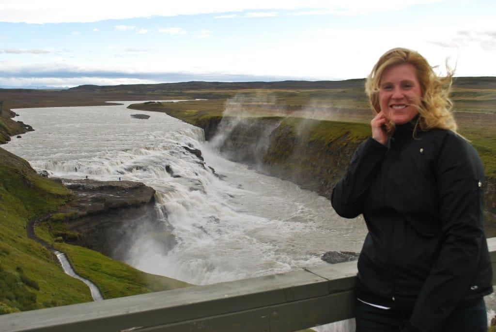 Gulfoss Waterfall Golcen Circle Iceland