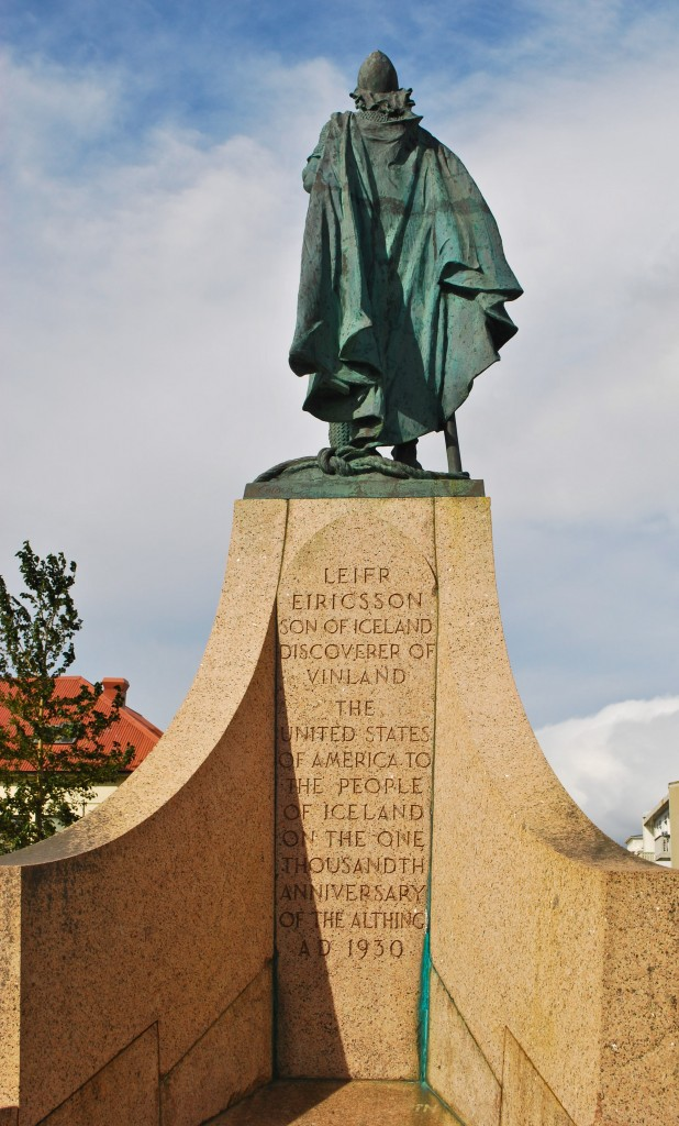 Leif Erikson Statue Reykjavik Iceland