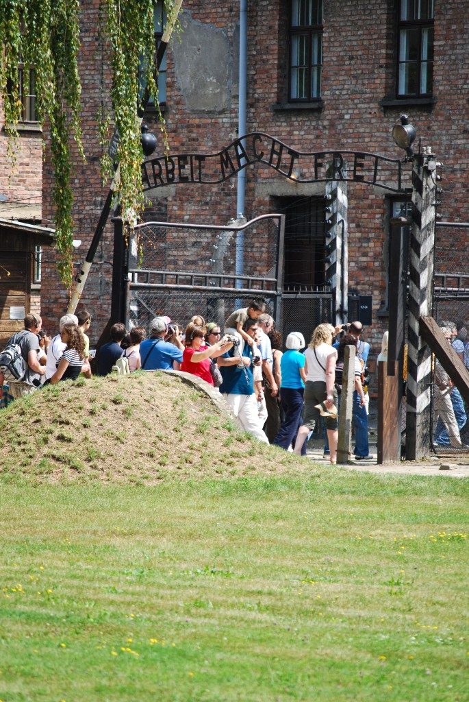 Main Gate Auschwitz Poland