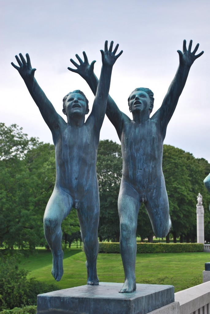 Vigeland Sculpture Park Oslo Norway