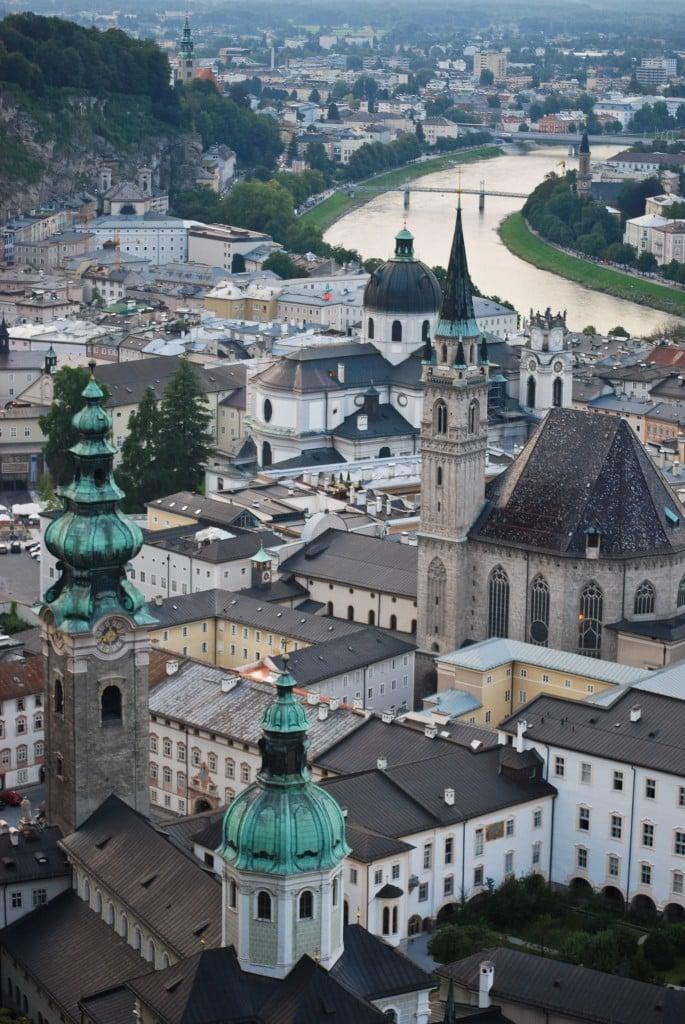 Festung Hohensalzburg Salzburg Austria