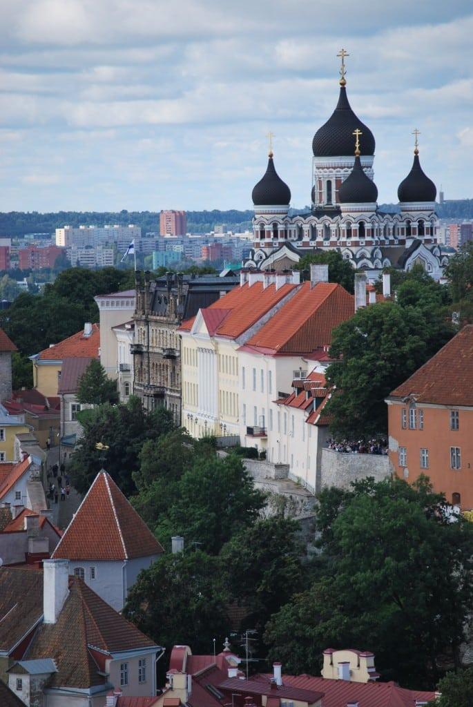 St. Alexander Nevsky Cathedral Tallinn Estonia