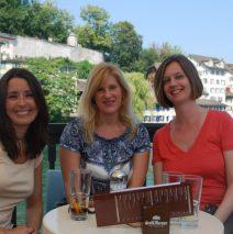 Zurich Switzerland with the Girls