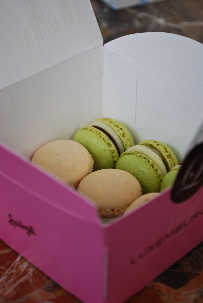 Mini macaroons Sprungli Zurich Switzerland