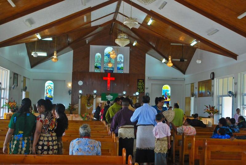 Sunday Church Tonga
