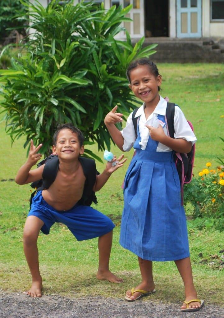 Kids Savaii Samoa