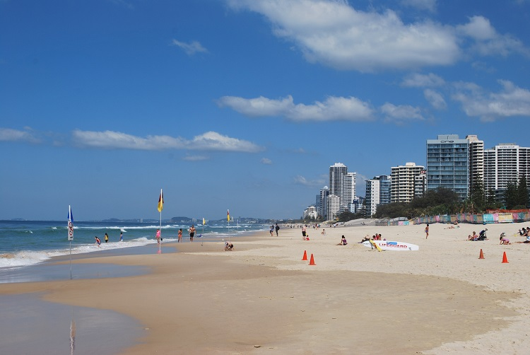 Gold Coast Beaches Australia