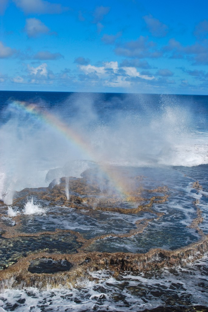 Blowholes Rainbows Tonga