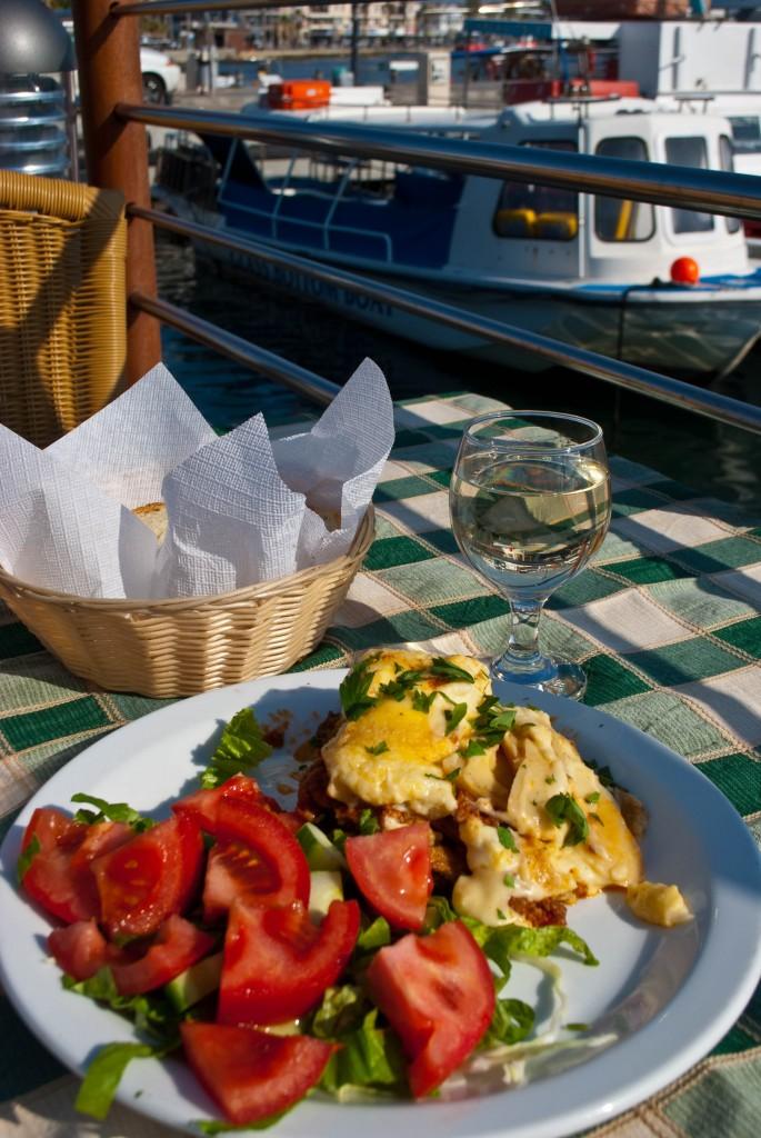 Greek taverna Paphos Cyprus