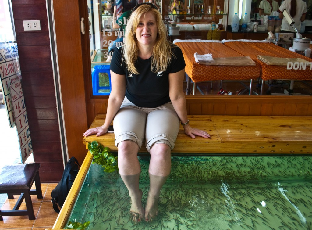Fish spa Bangkok Thailand