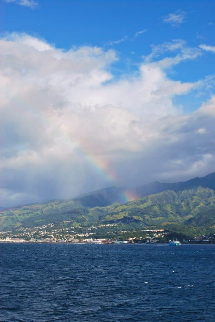 Rainbow papeete Tahiti