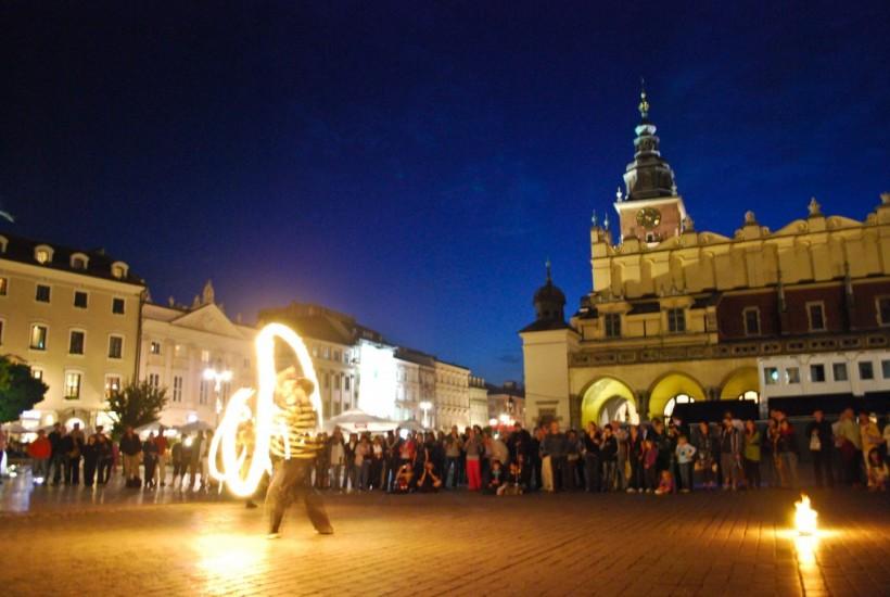 Rynek Glowny Krakow Poland