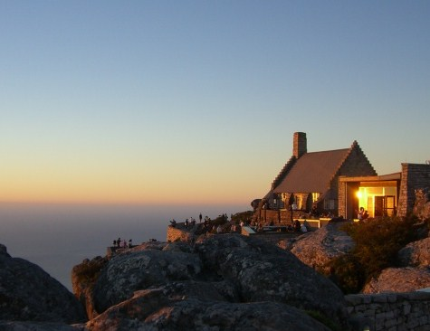 Sunset Table Mountain Cape Town South Africa