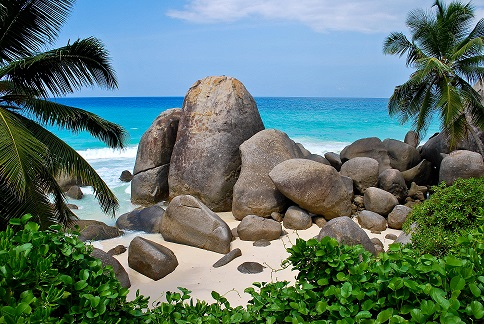 North Point Beach Mahe Seychelles
